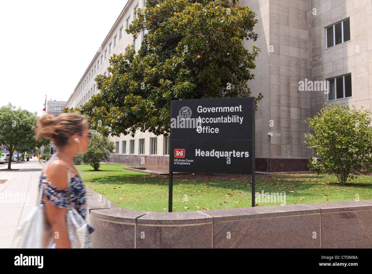 US GAO headquarters building - Stock Image