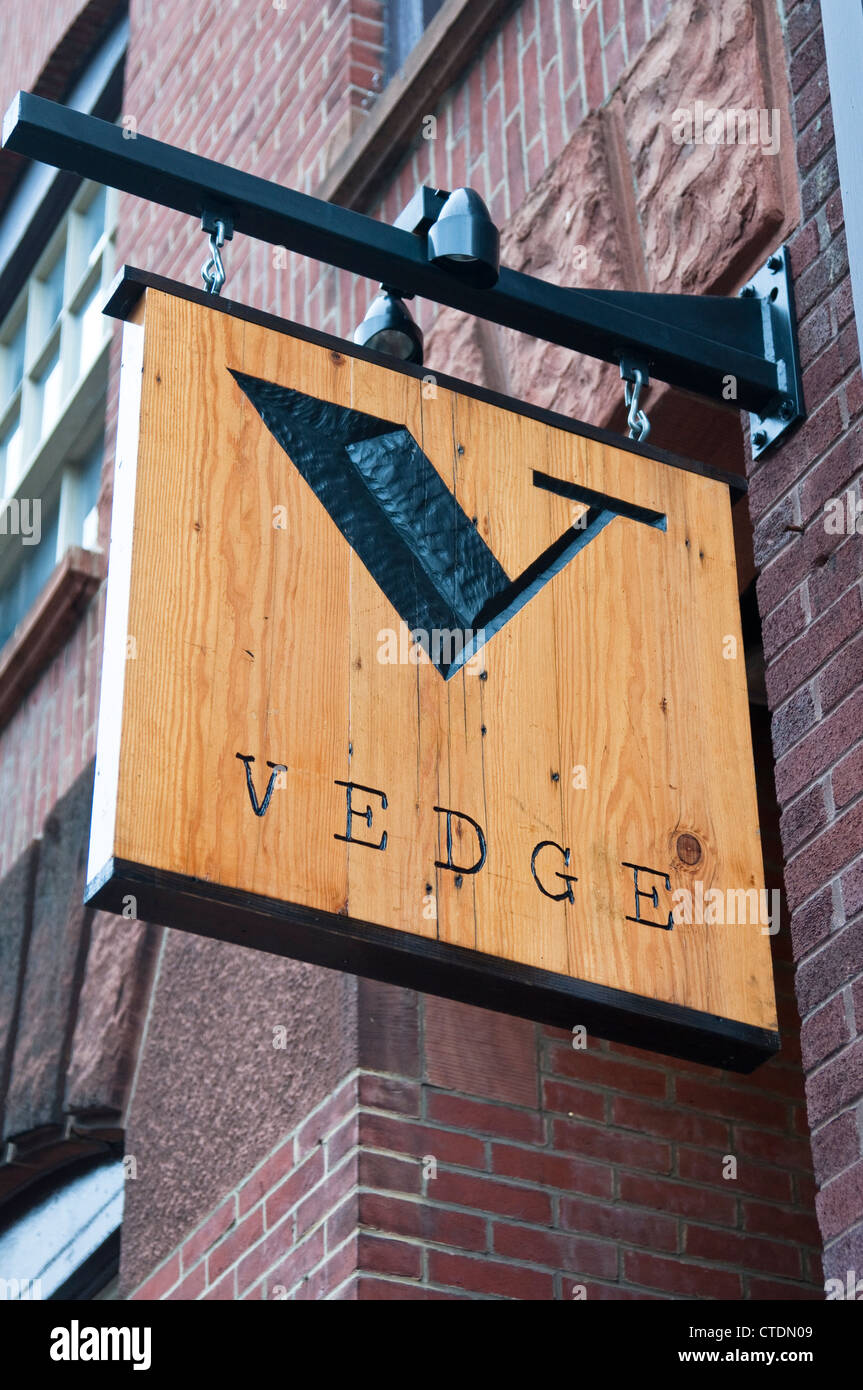 Vedge A Vegetable Restaurant In Philadelphia Usa