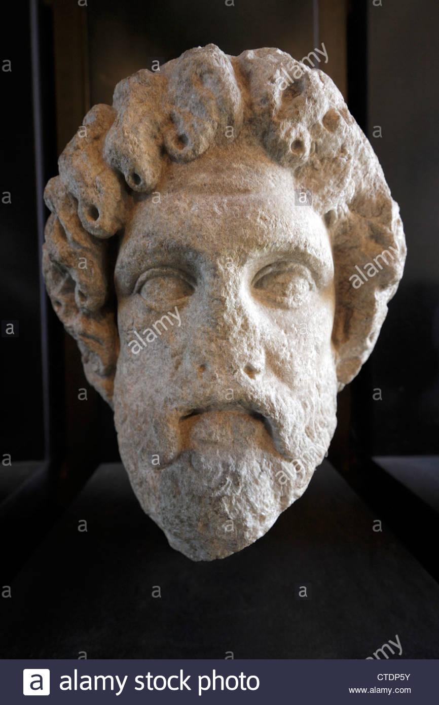 Sculpture Face Vatican Museum Vatican Stock Photos