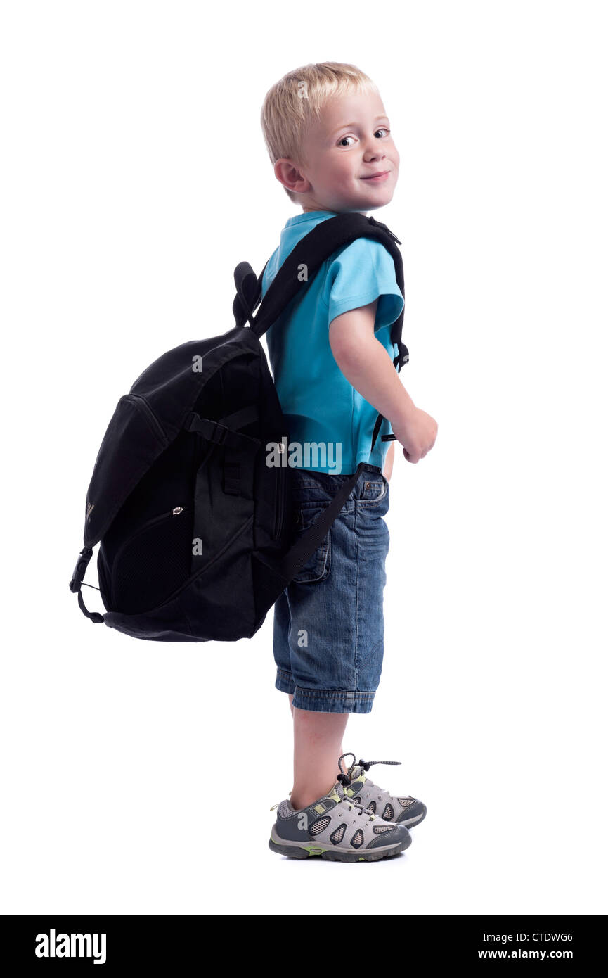 Big Black Backpack Stock Photos   Big Black Backpack Stock Images ... 073fa46874d60