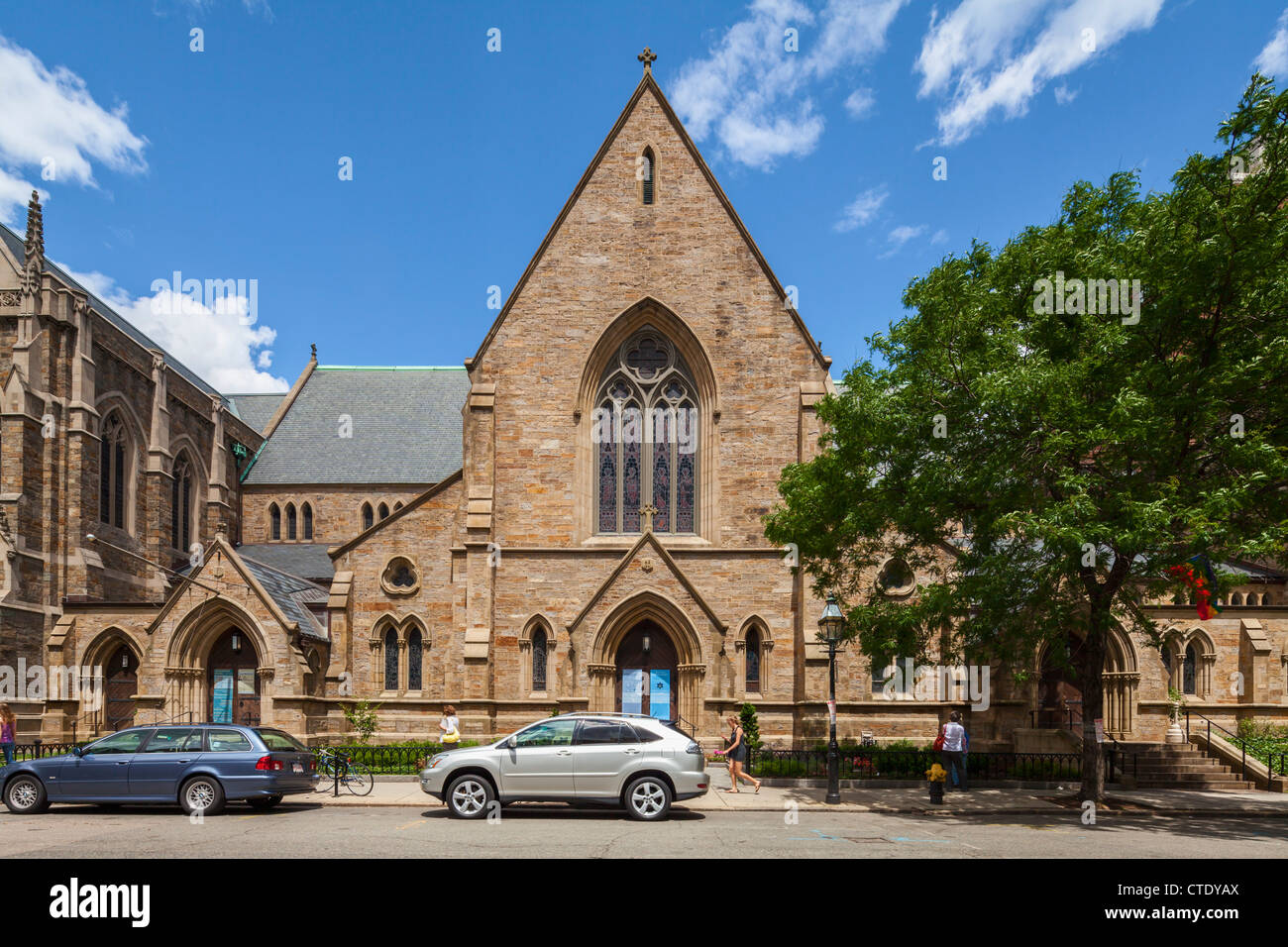 Emmanuel Episcopal Church, Boston - Stock Image