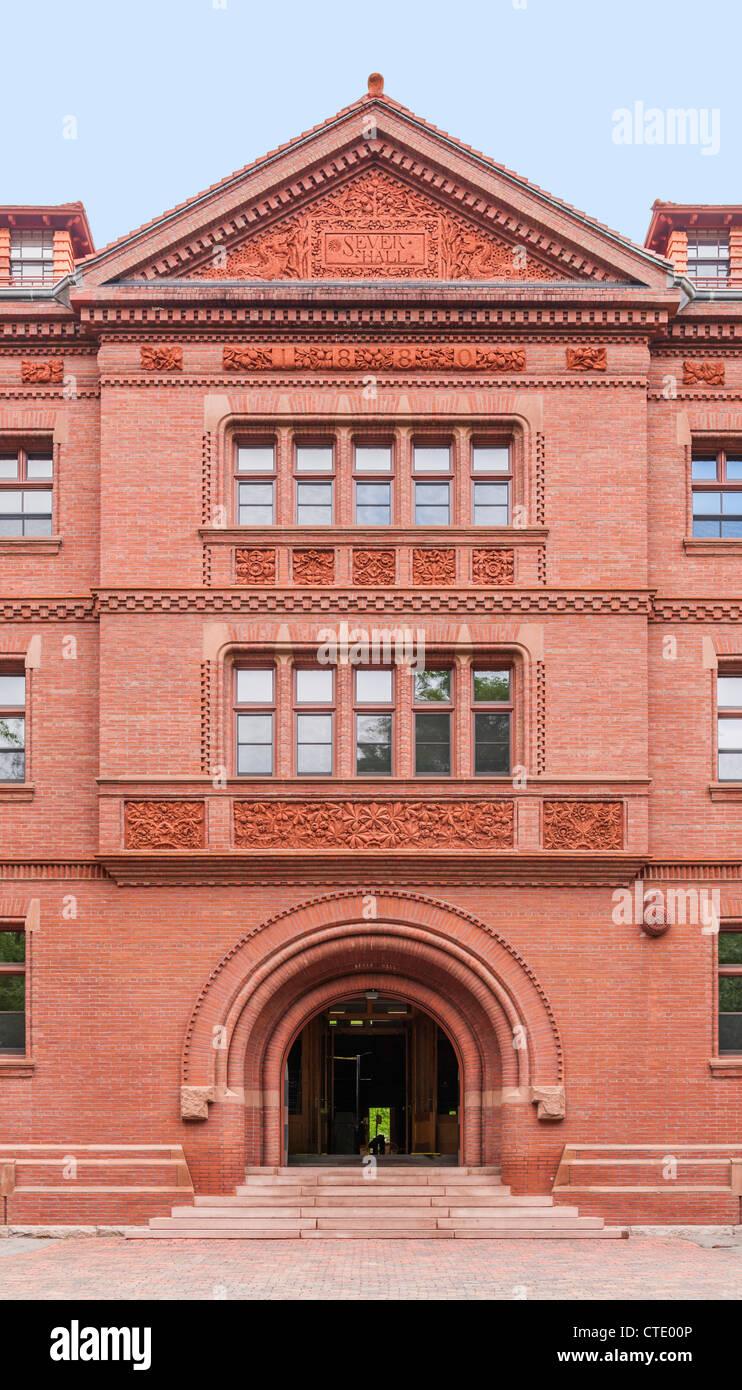 Sever Hall, Cambridge, MA - Stock Image