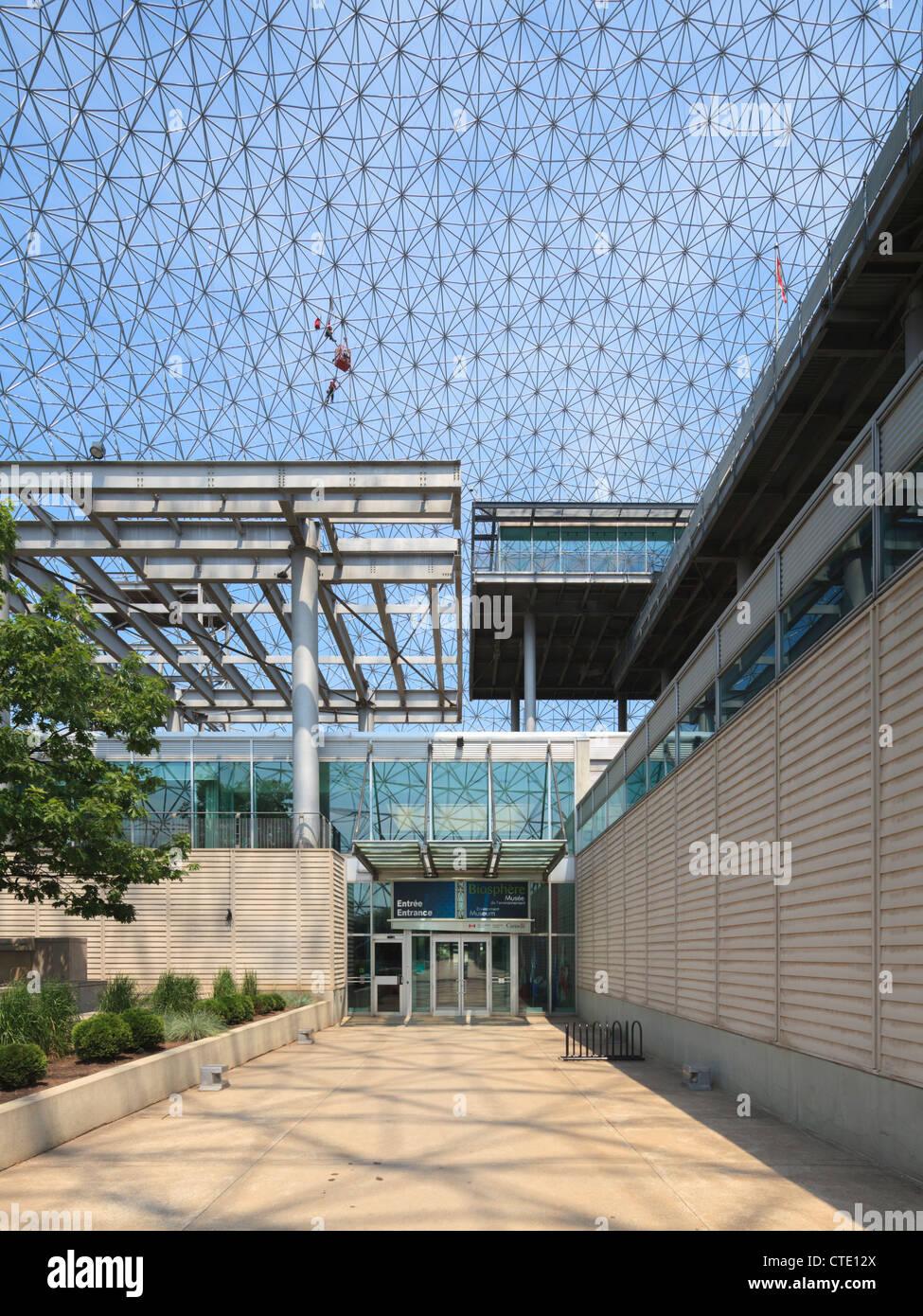 Montreal Biosphère - Stock Image