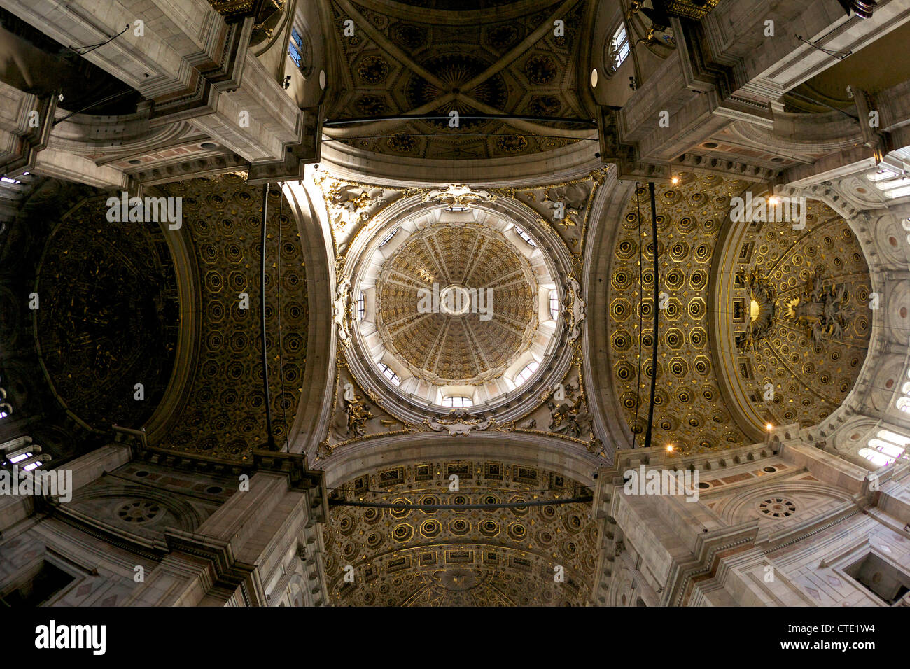 Interior of Como Duomo, city centre, Lake Como, Italy, Europe - Stock Image