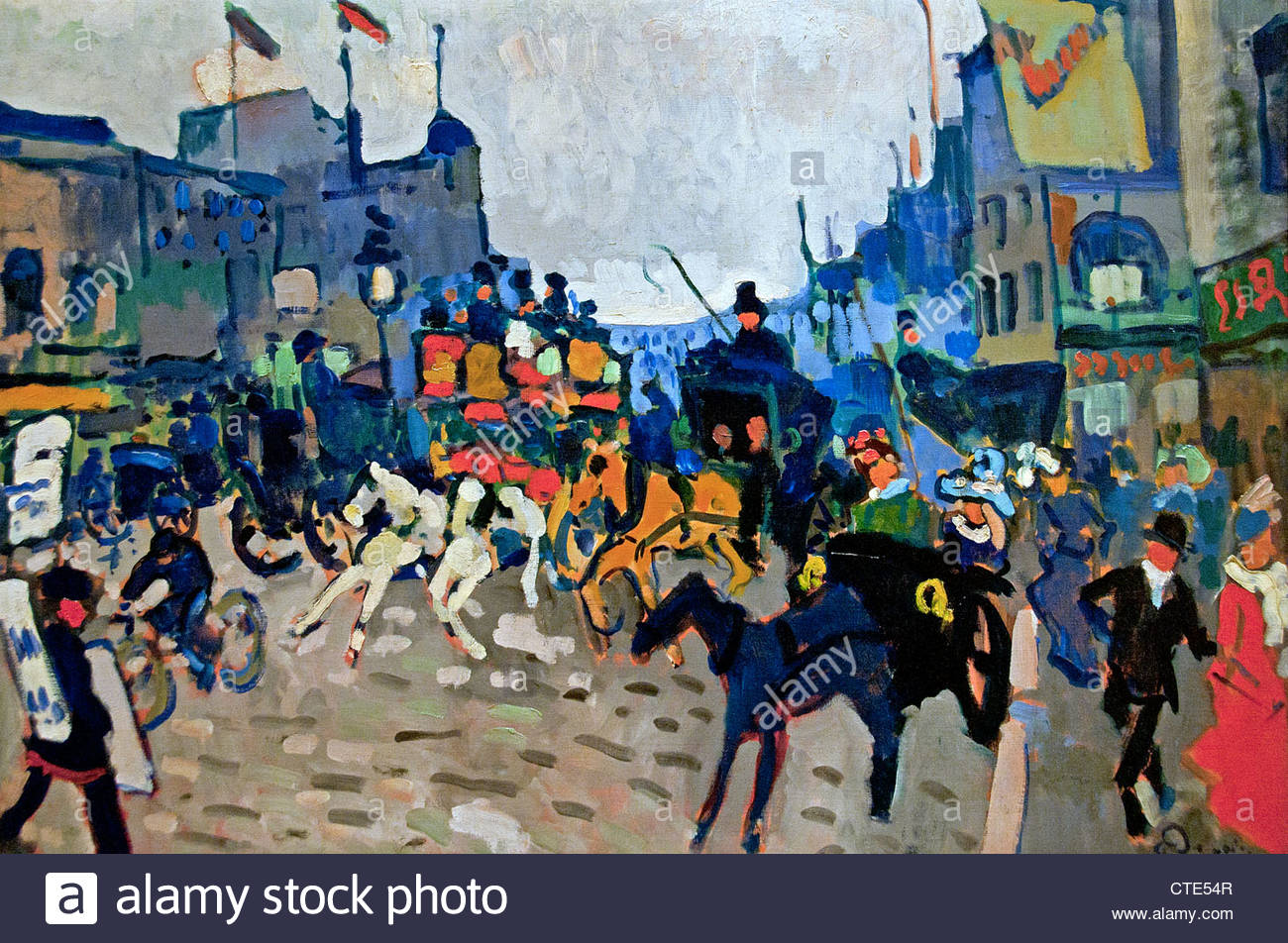 Regent street London 1906 A by André Derain France French - Stock Image