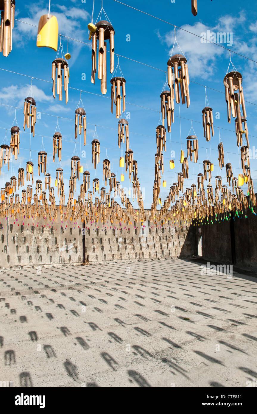 Art installation, 18th Biennale of Sydney, Cockatoo Island, Sydney, Australia - Stock Image
