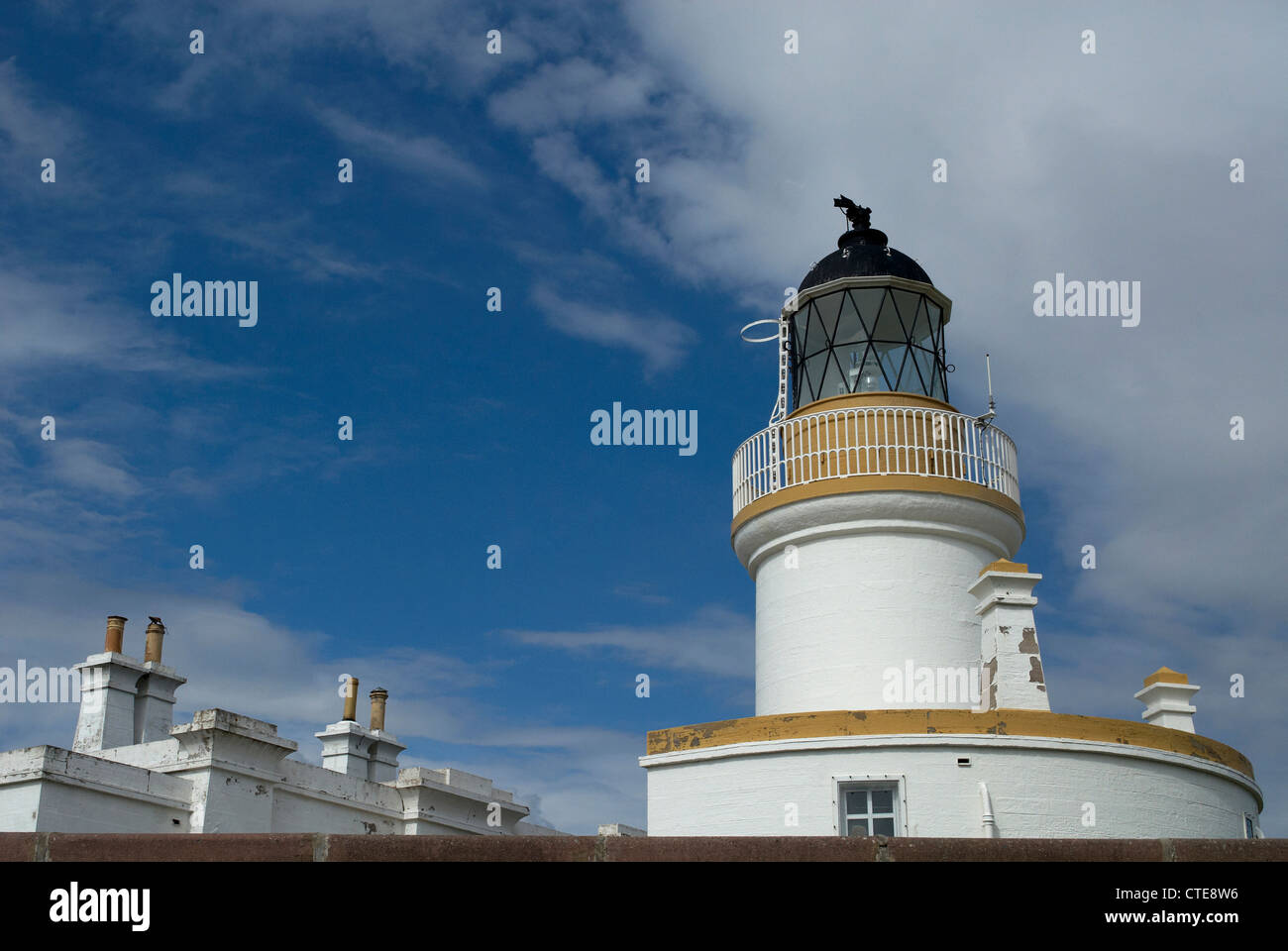 The Lighthouse at  Chanonry Point - Stock Image
