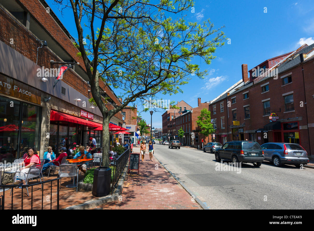 Portland Maine Street Stock Photos & Portland Maine Street Stock ...
