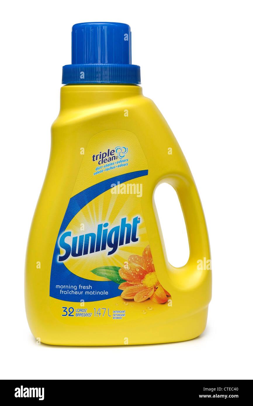 Laundry Detergent, Liquid. - Stock Image