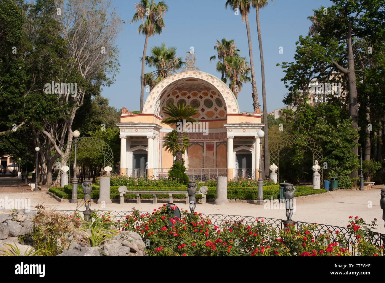 Villa Giulia, an 18th century garden adjacent to the Orto ...