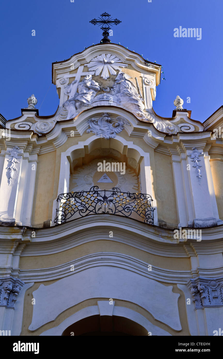 Basilian Gate Vilnius Lithuania - Stock Image