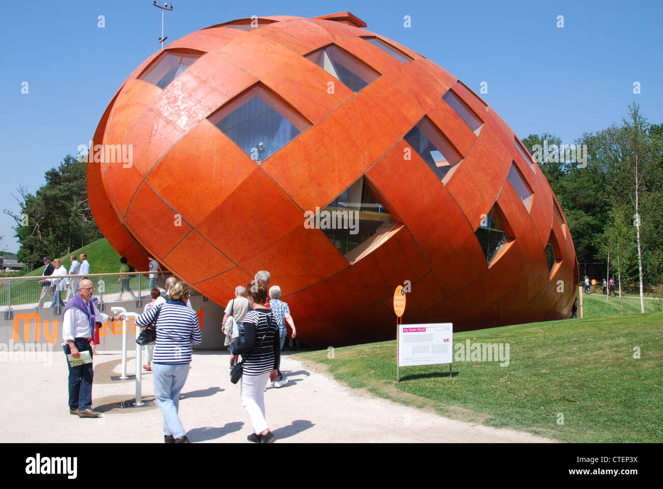 My Green World  at Floriade 2012, world horticultural expo Venlo Netherlands Stock Photo