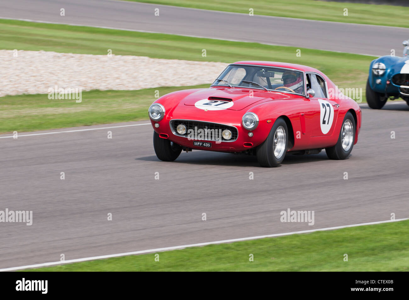 Ferrari 250GT SWB, RAC TT Celebration Race, Goodwood Revival 2011 - Stock Image