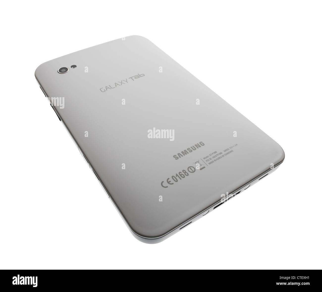 Samsung Galaxy Tablet - Stock Image