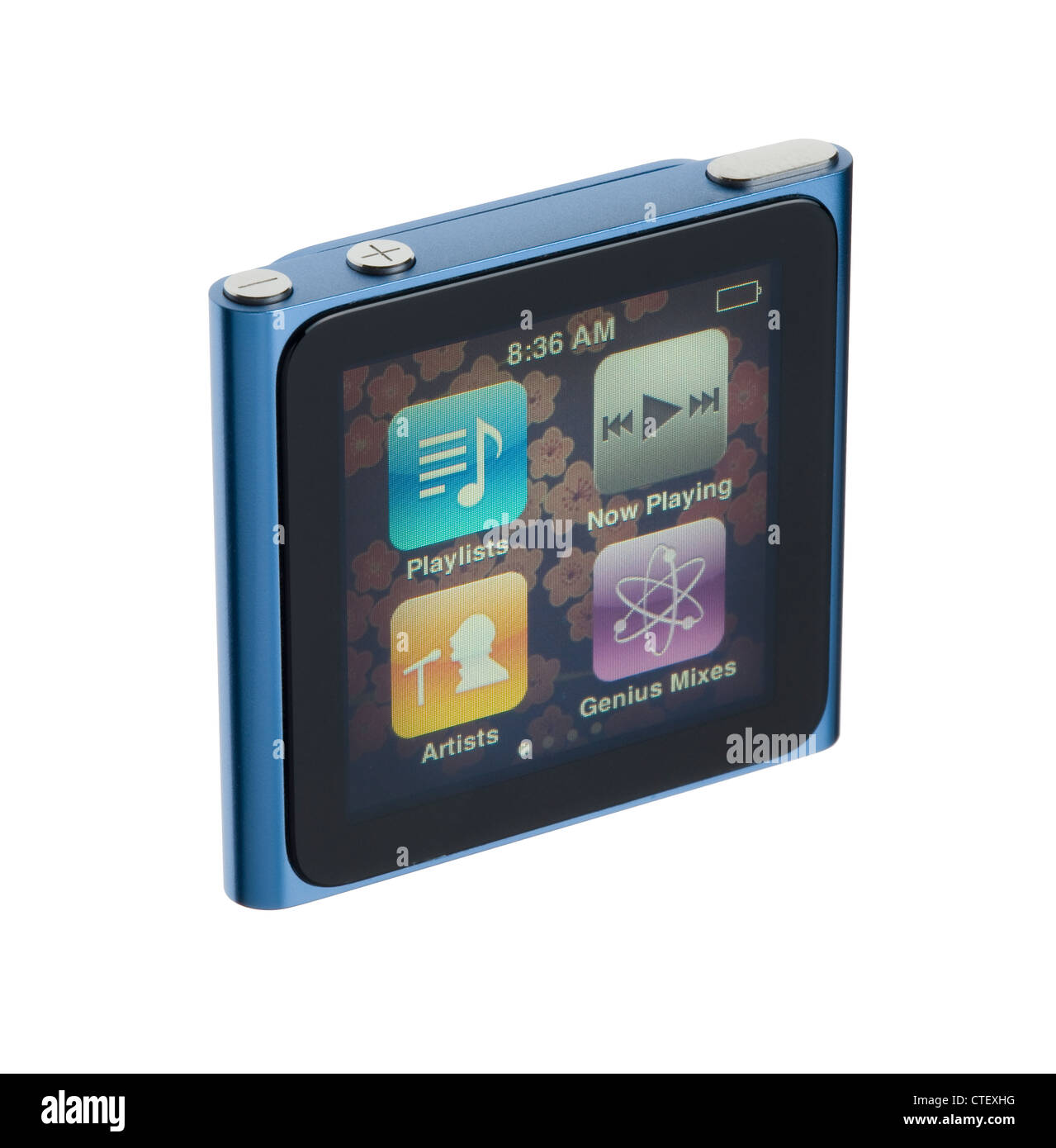 iPod Nano 6th Generation. Music player with touch screen