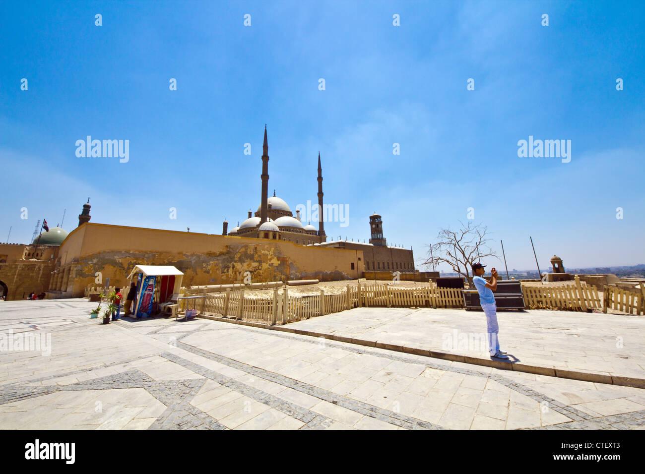 Muhammad Ali Mosque The Citadel Cairo Egypt - Stock Image