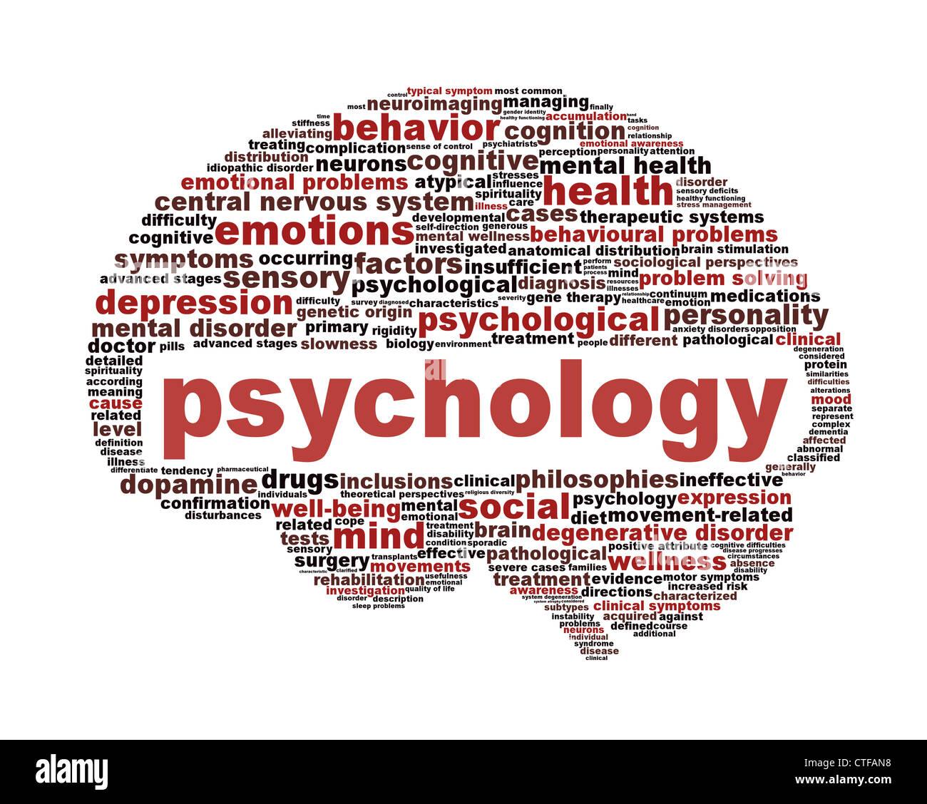Psychology Symbol Isolated On White Stock Photo 49510196 Alamy