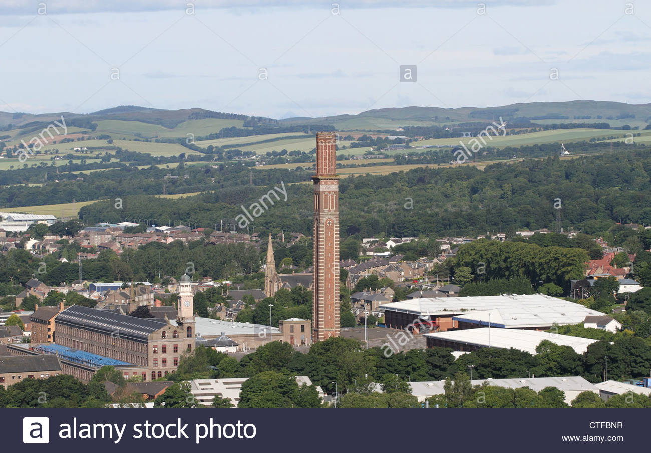 Elevated view of Stack Leisure Park Lochee Dundee Scotland  July 2012 - Stock Image