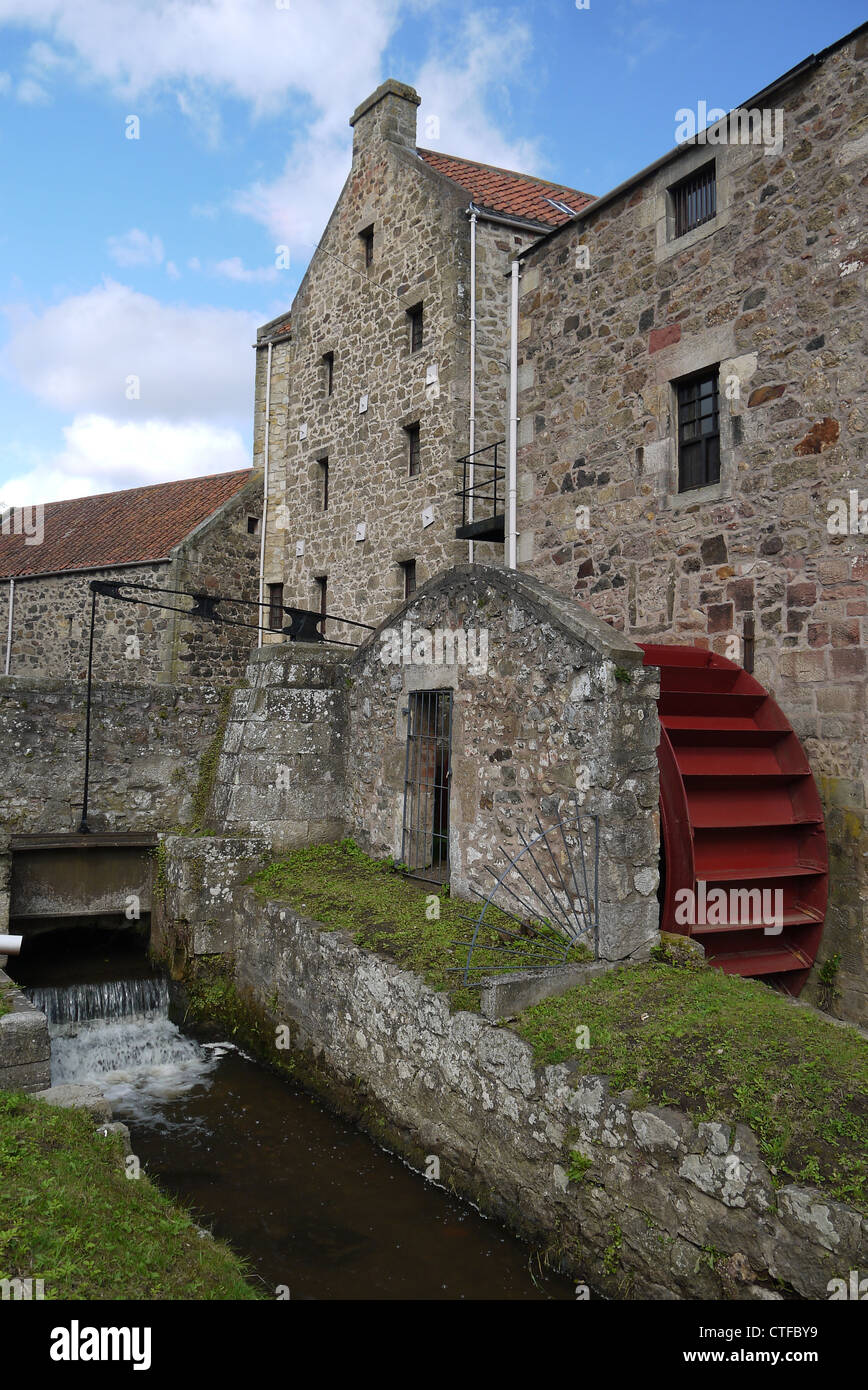 Poldrate Mill, Haddington, East Lothian - Stock Image