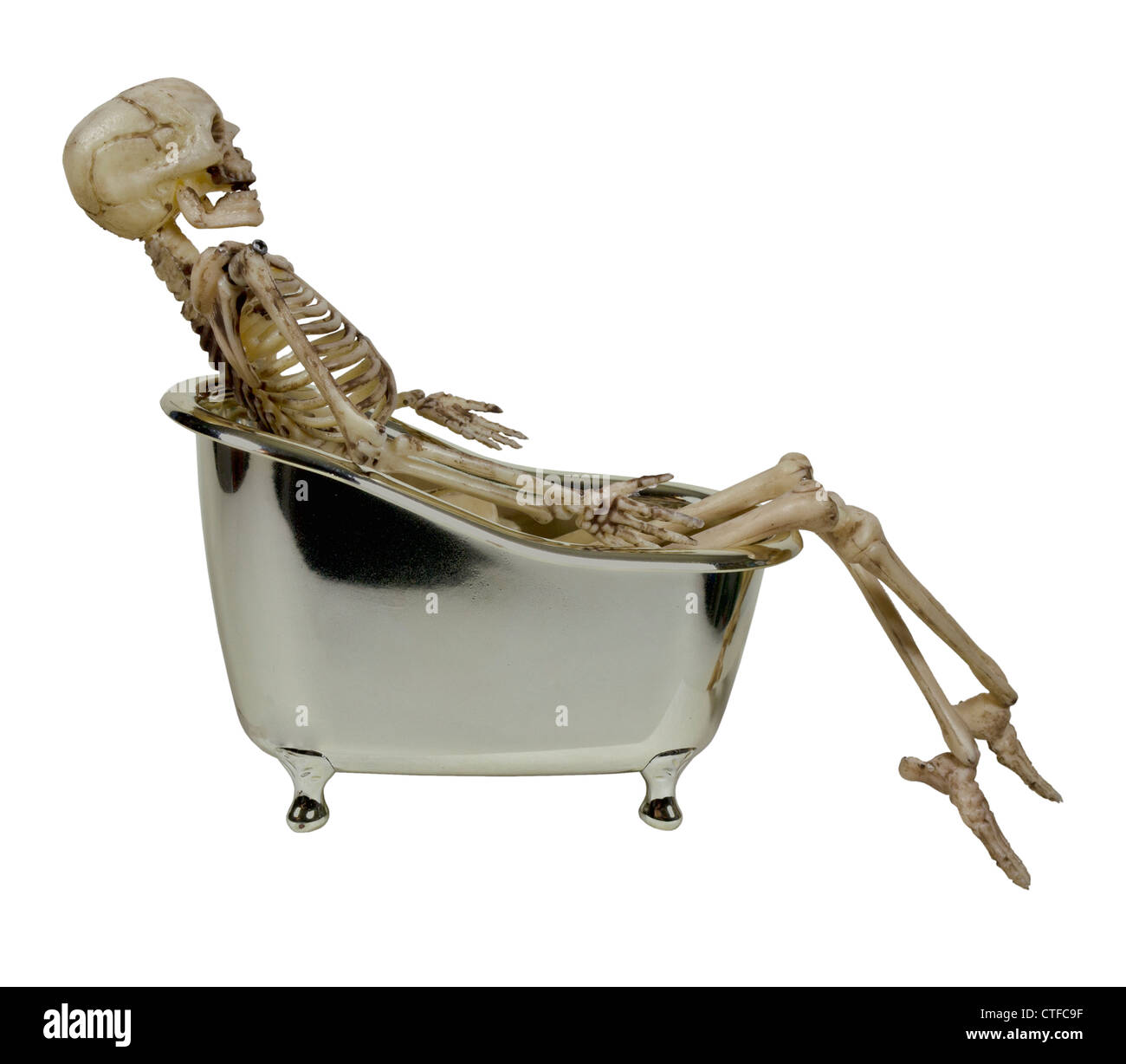 Skeleton In The Bathtub High Resolution Stock Photography And Images Alamy