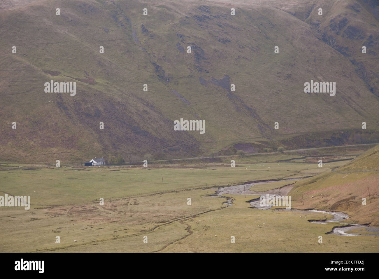 Scotland's highlands,and lowlands,history, culture,clans, tartans, - Stock Image