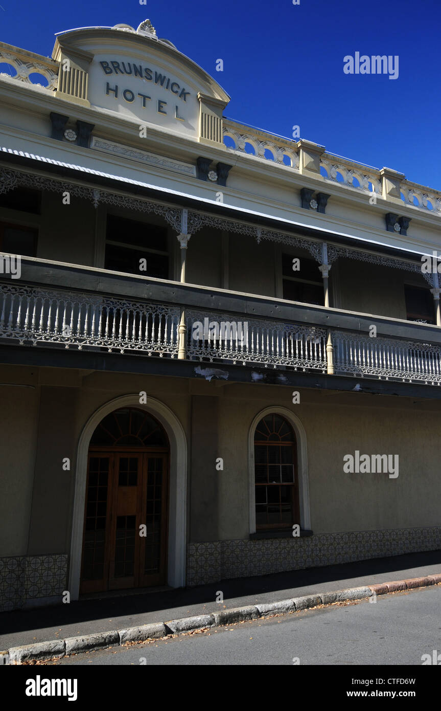Brunswick Hotel, New Farm, Brisbane, Queensland, Australia. No PR - Stock Image