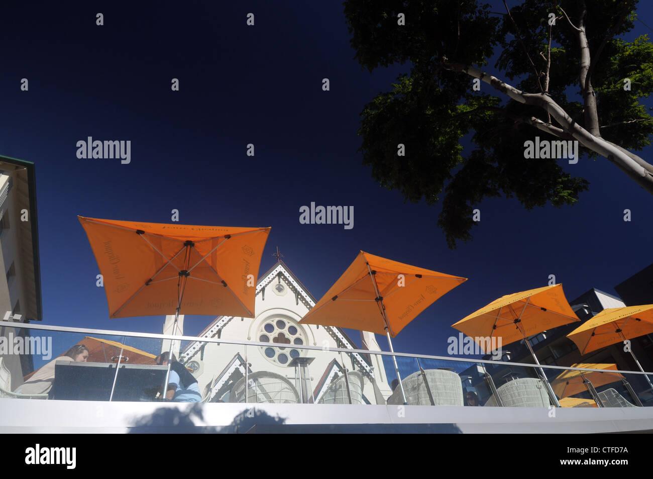 Lady Lamington Cafe, Brunswick Street, Fortitude Valley, Brisbane, Queensland, Australia. No PR or MR - Stock Image