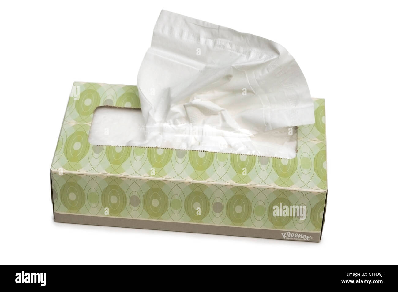 Box of Tissues - Stock Image