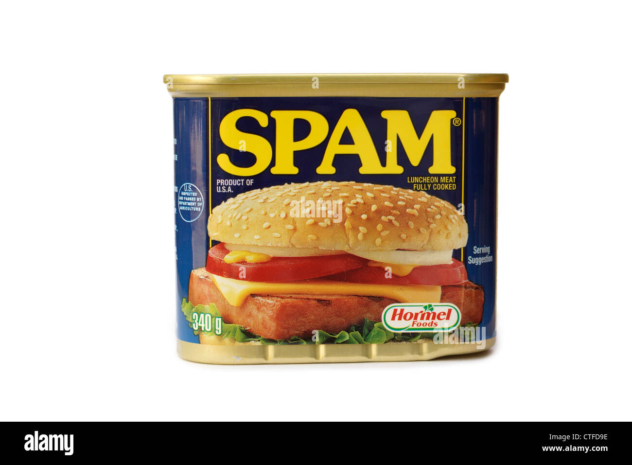 Spam - Stock Image