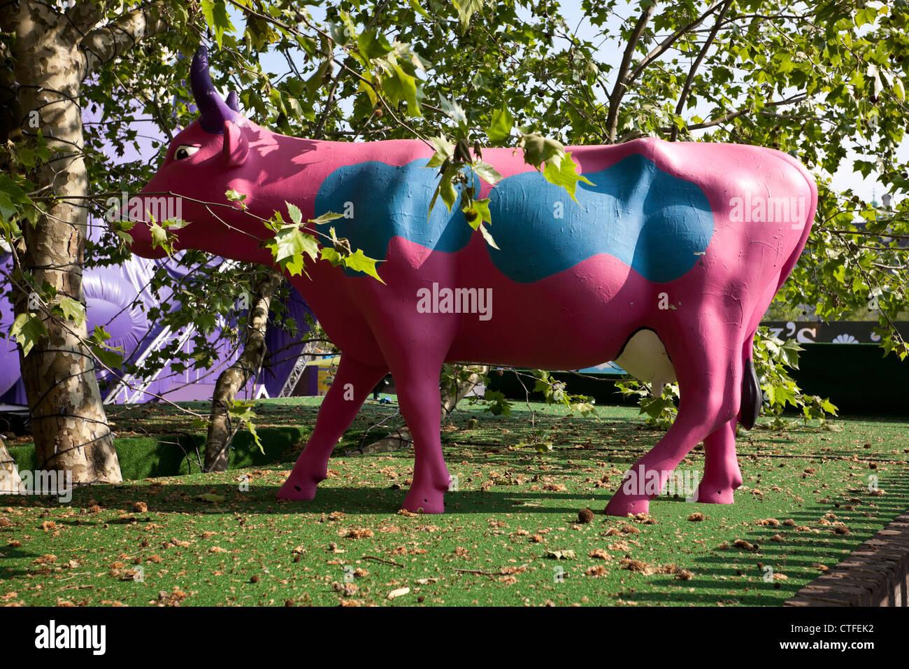 Magners Pastures, E4 Udderbelly Festival, Southbank, London, England, UK - Stock Image