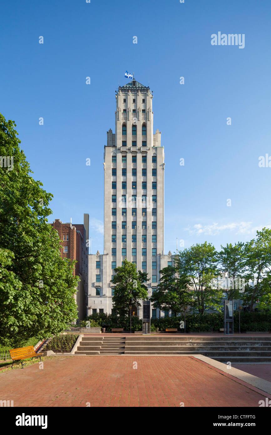 Édifice Price building, Quebec City - Stock Image