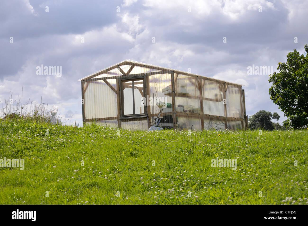 Cabane stock photos cabane stock images alamy - Cabane jardin valais besancon ...