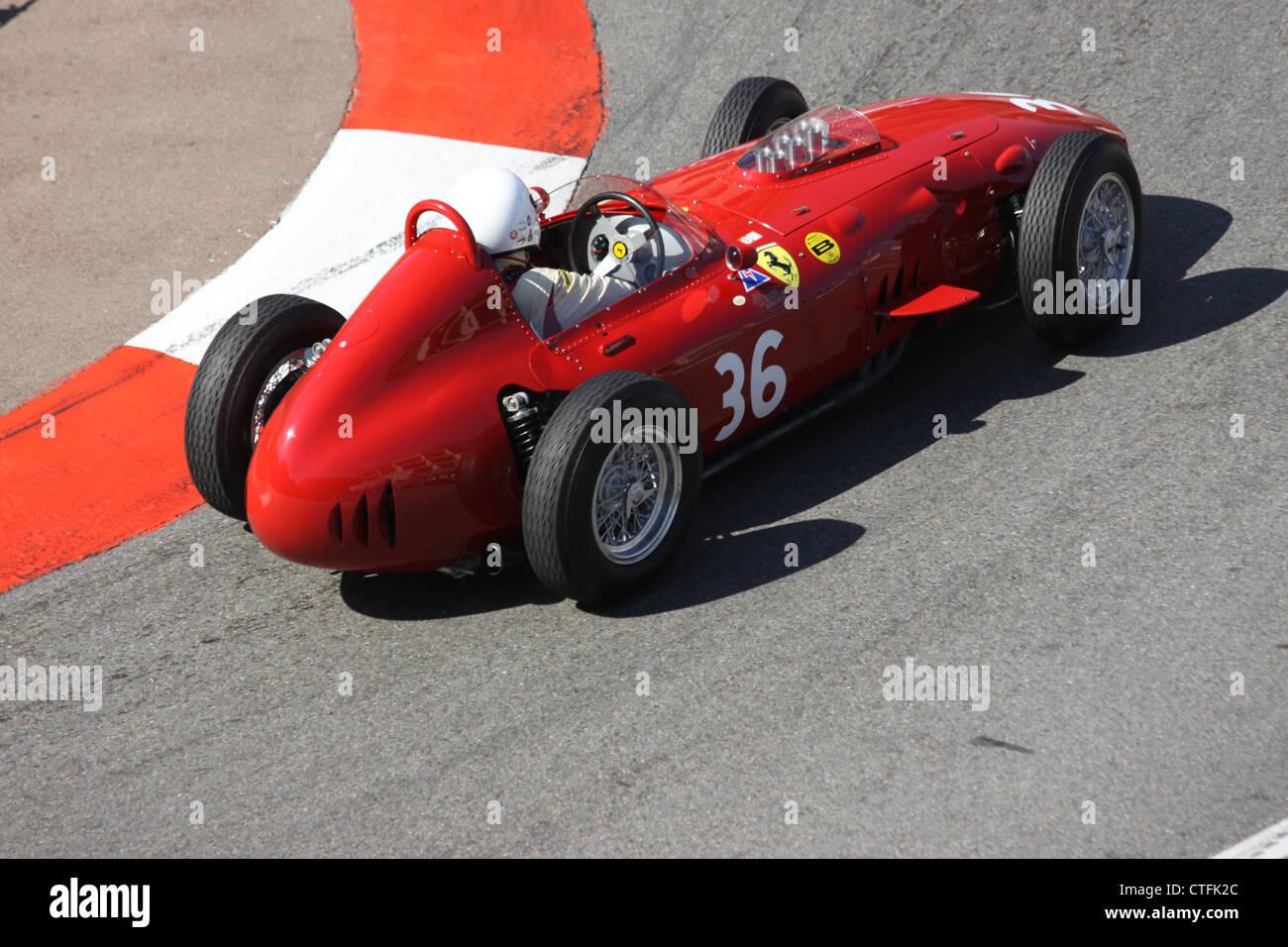 Historic GP  Ferrari Dino 246 - Stock Image