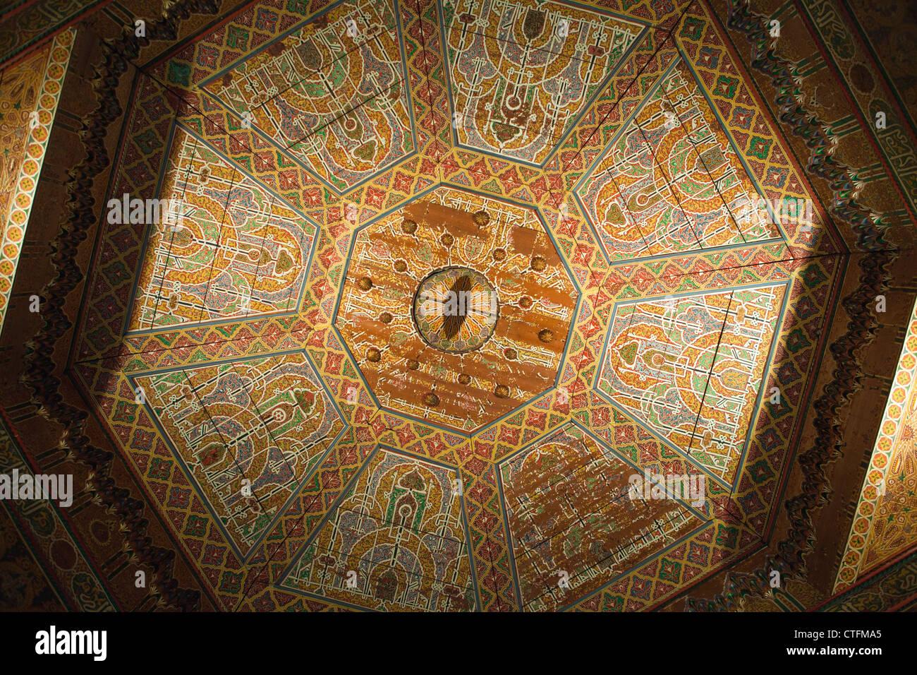 Morocco, Marrakech Bahia palace. - Stock Image