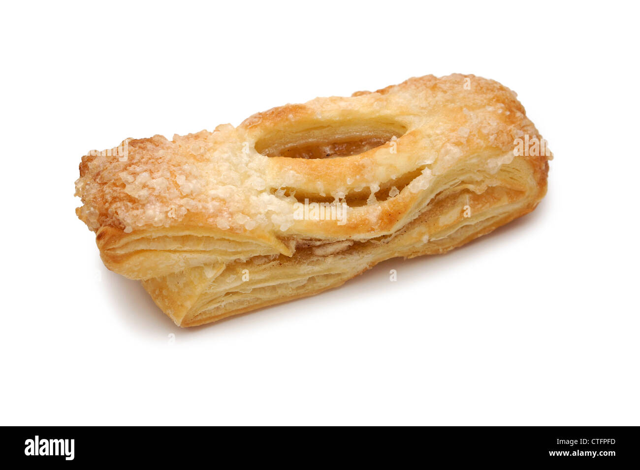 Strudel Flaky Apple Pastry - Stock Image