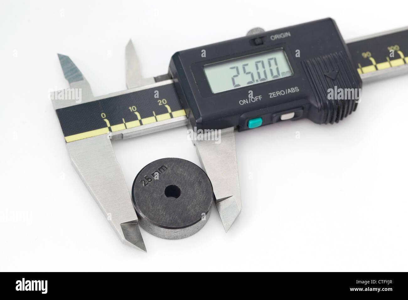 Digital Caliper - Stock Image