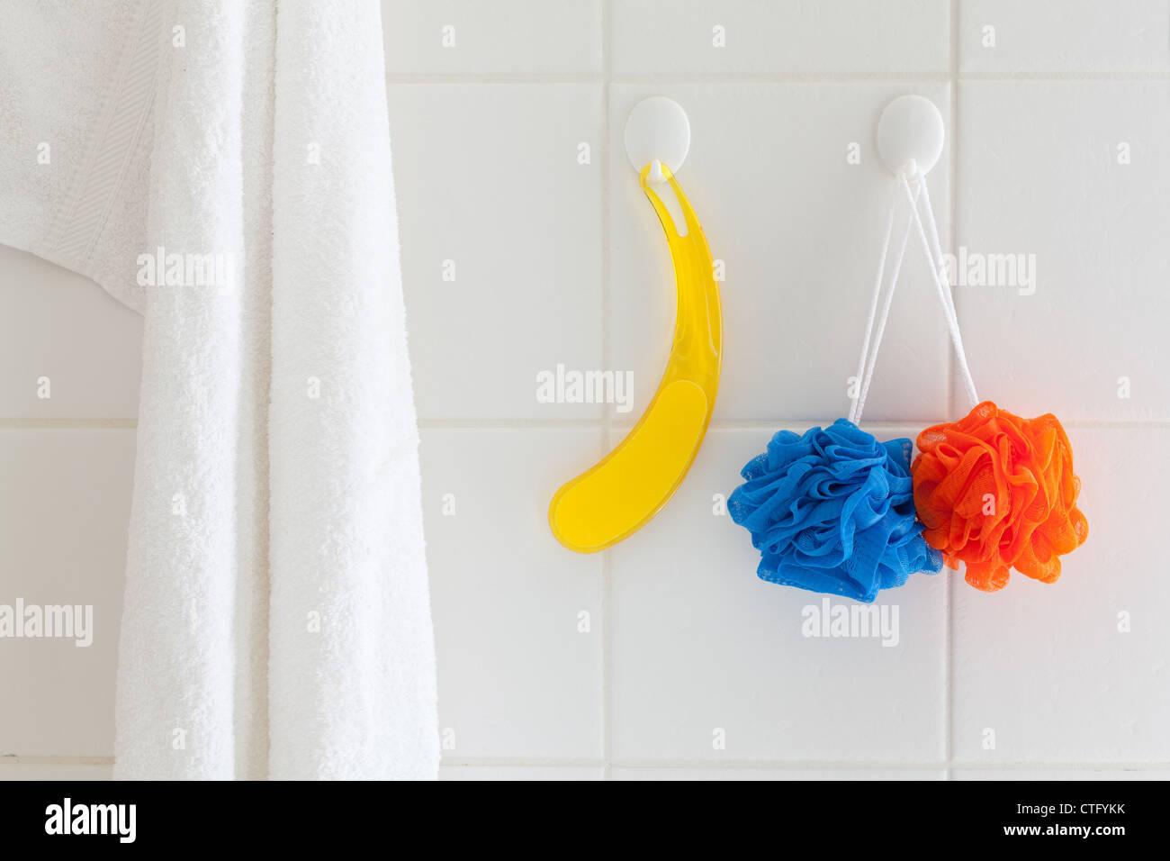 bath,bathing,bathroom,hanging,hygiene,indoor,indoors,inside,interior ...