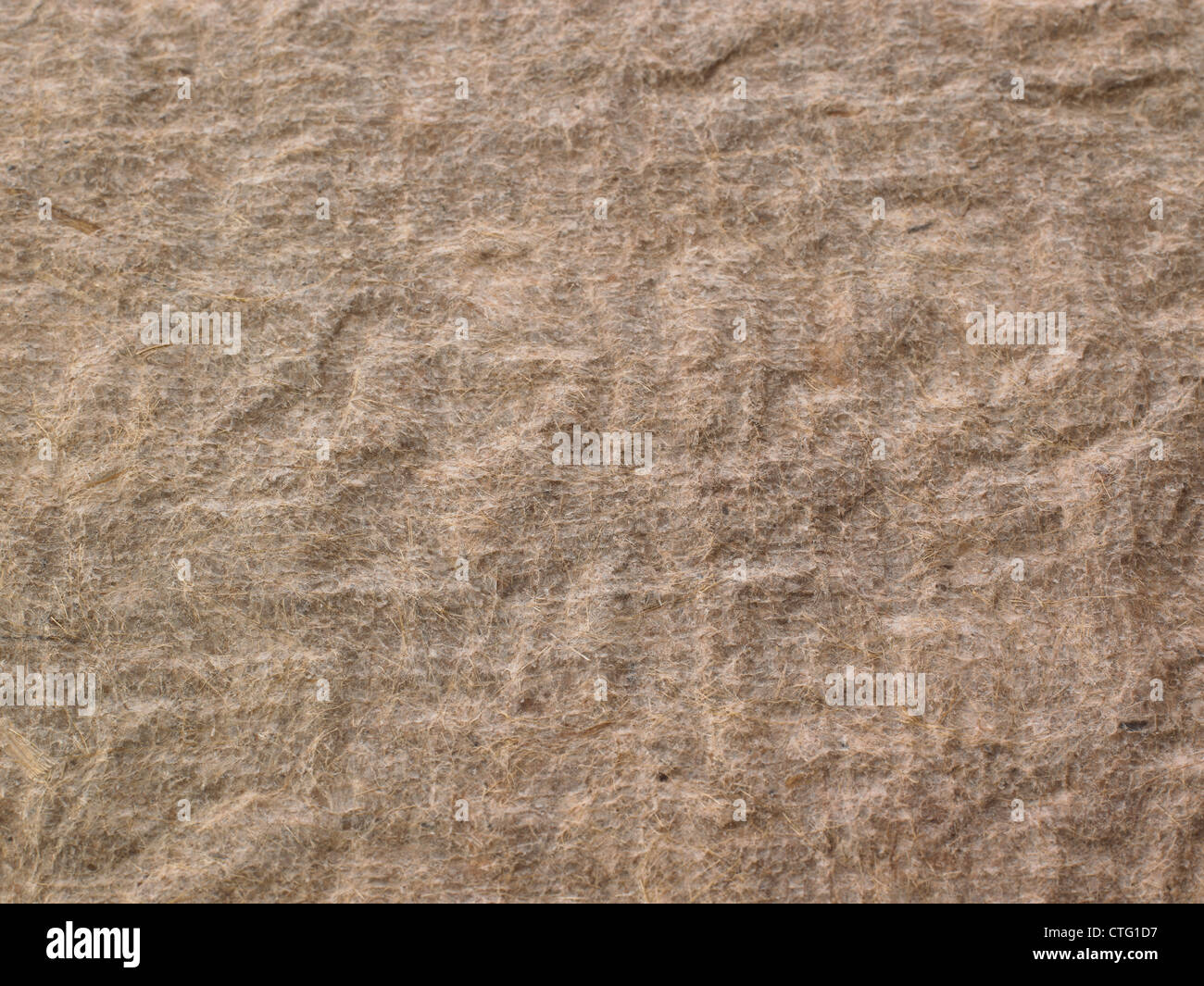 wrinkled parchment paper background - Stock Image