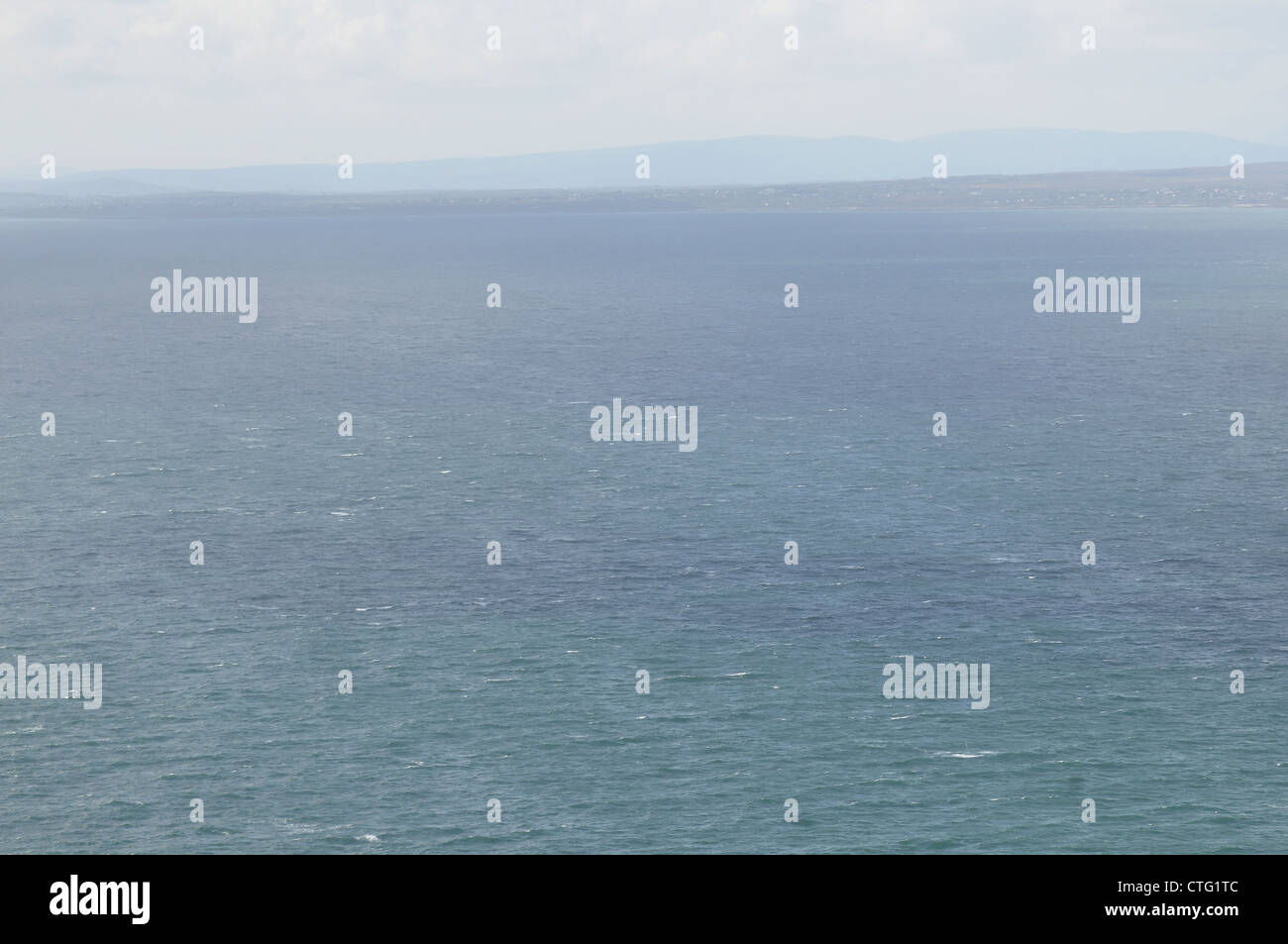 The Atlantic ocean off, County Clare,  West coast of Ireland. - Stock Image