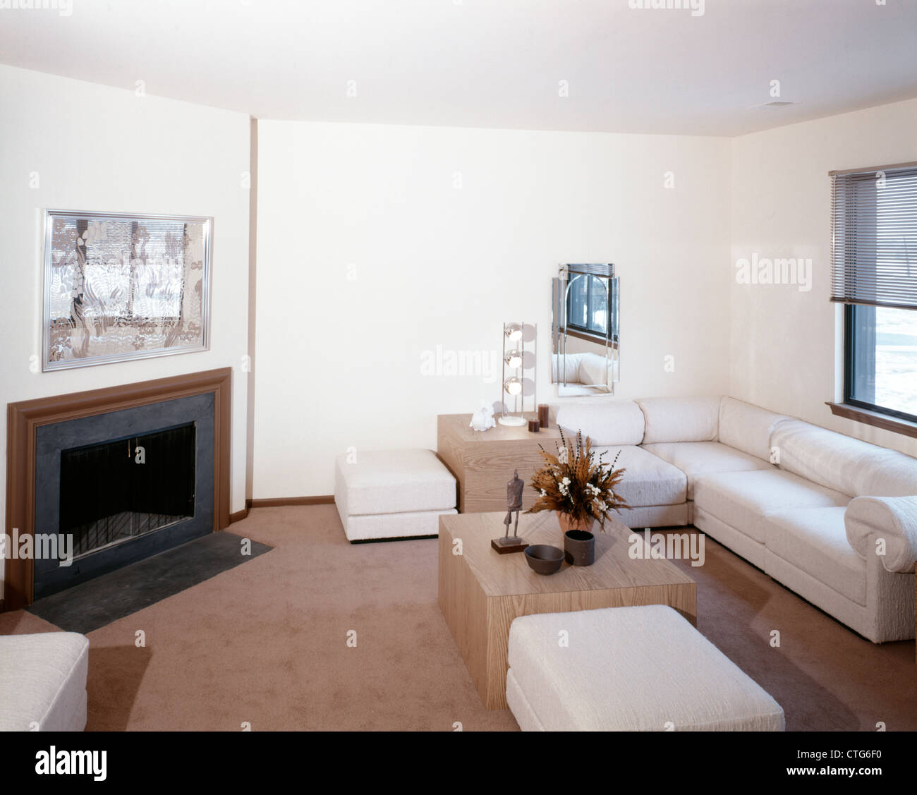 1970s Living Room Stock Photos & 1970s Living Room Stock Images - Alamy