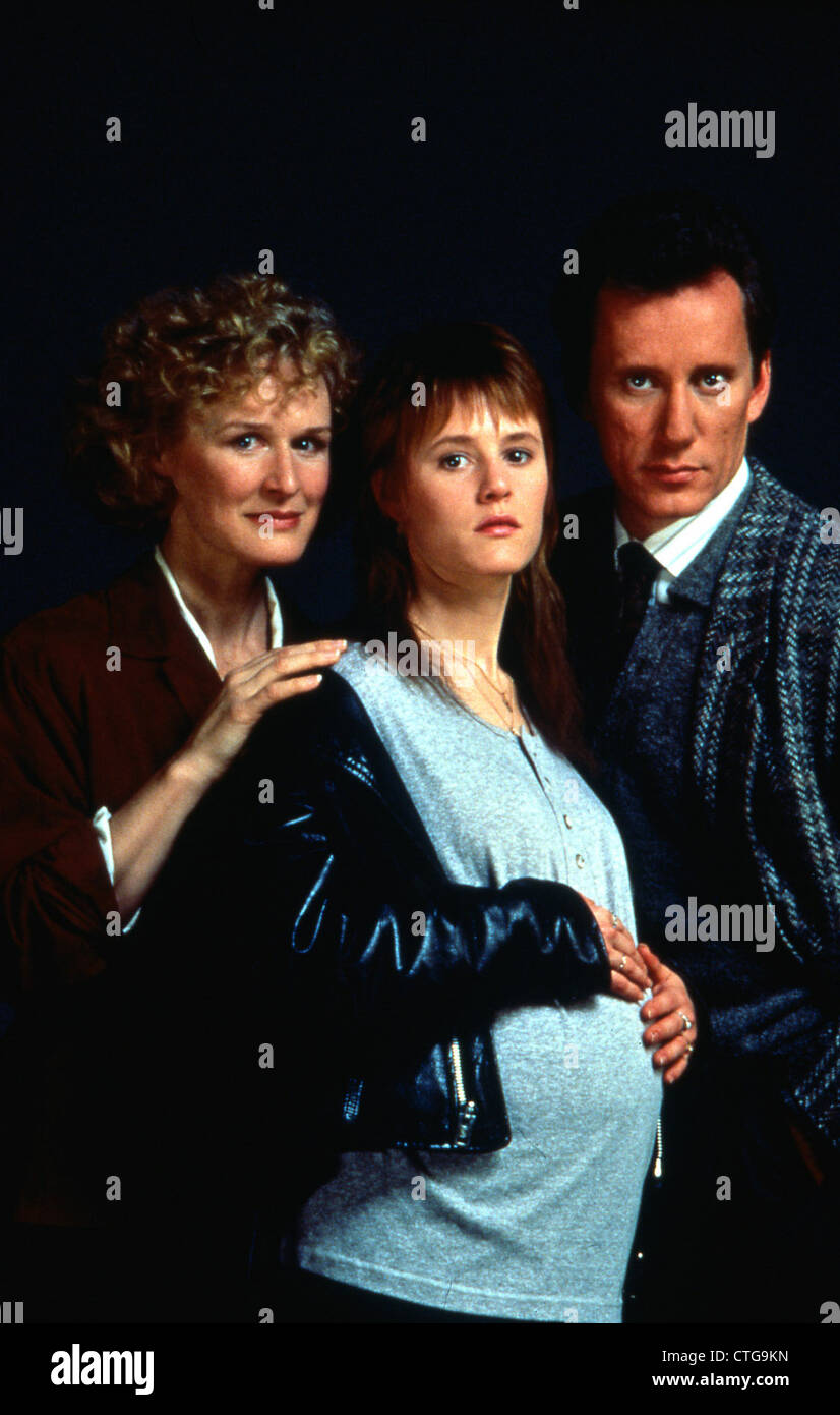 IMMEDIATE FAMILY (1989) GLENN CLOSE, MARY STUART MASTERSON, JAMES WOODS JONATHAN KAPLAN (DIR) 006 MOVIESTORE COLLECTION Stock Photo