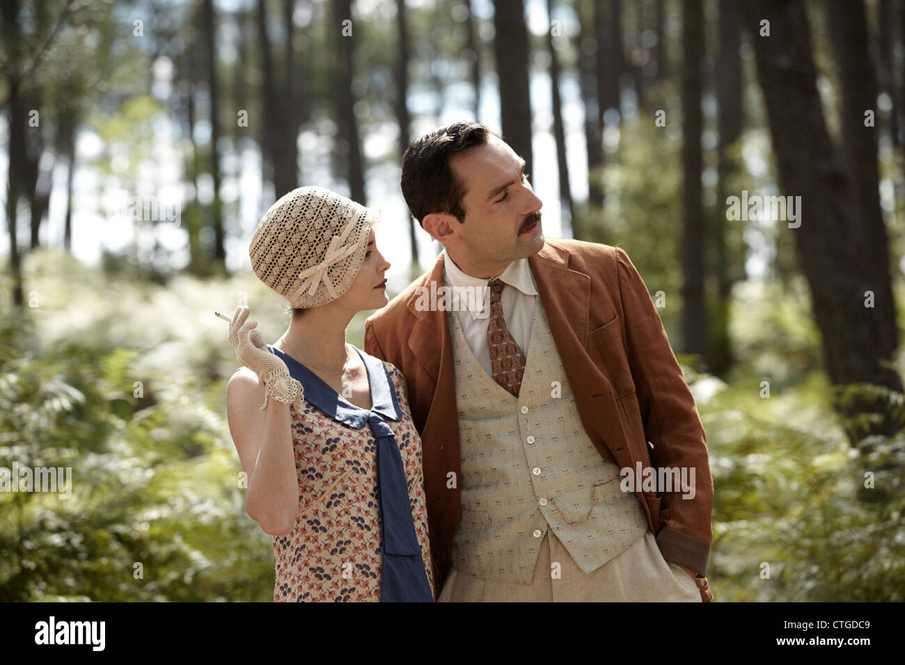 THERESE DESQUEYROUX (2012) AUDREY TAUTOU, GILLES LELLOUCHE, CLAUDE MILLER (DIR) 005 MOVIESTORE COLLECTION LTD - Stock Image