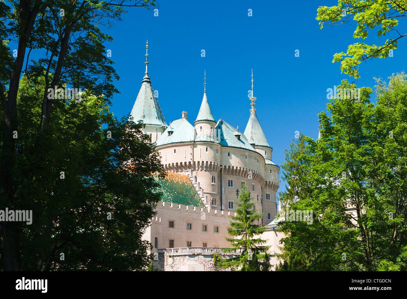 Castle in Slovakia - Stock Image