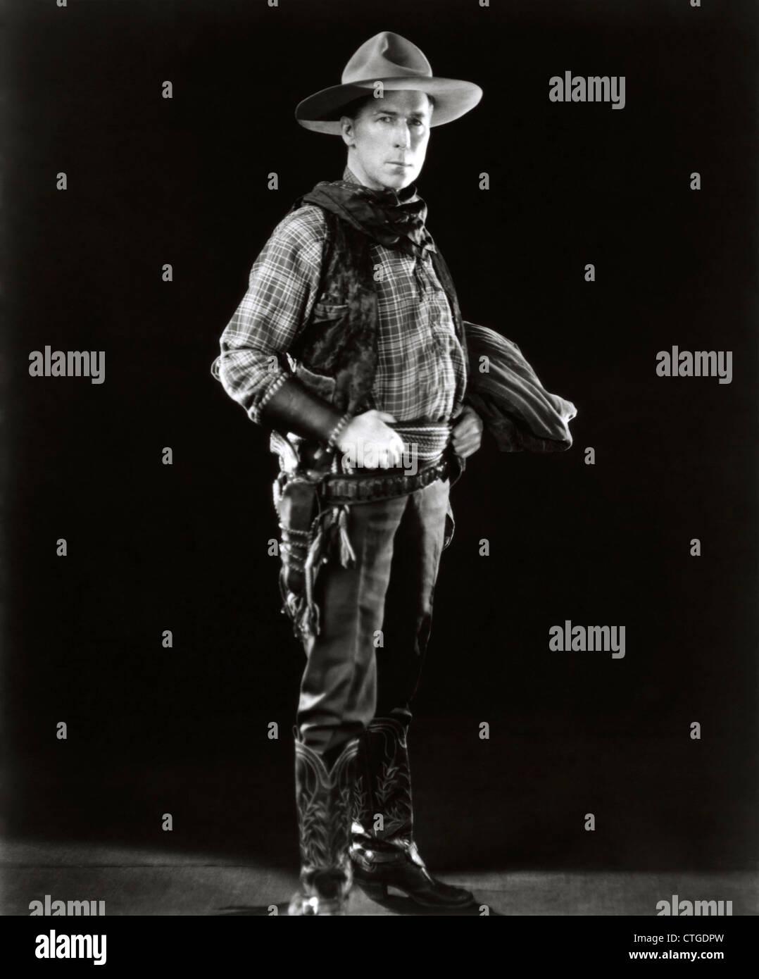 WILLIAM S HART (PORTRAIT) 002 MOVIESTORE COLLECTION LTD - Stock Image
