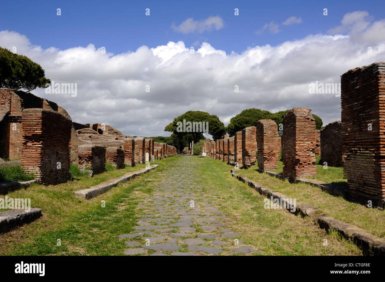 Decumanus Maximus Stock Photos Decumanus Maximus Stock Images Alamy