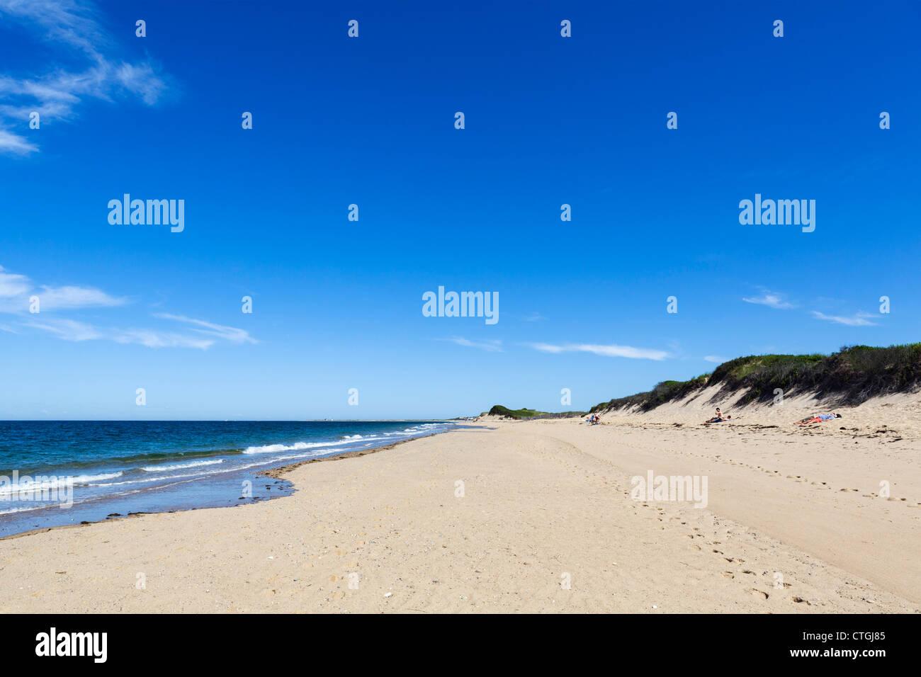 Herring Cove Beach, Cape Cod National Seashore, Cape Cod, Massachusetts, USA - Stock Image
