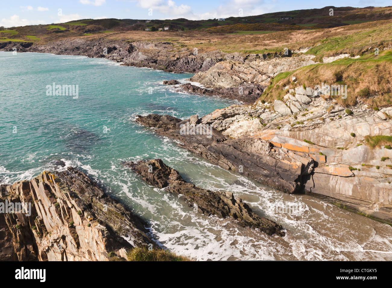 Sandy Cove, West Cork, Ireland. - Stock Image