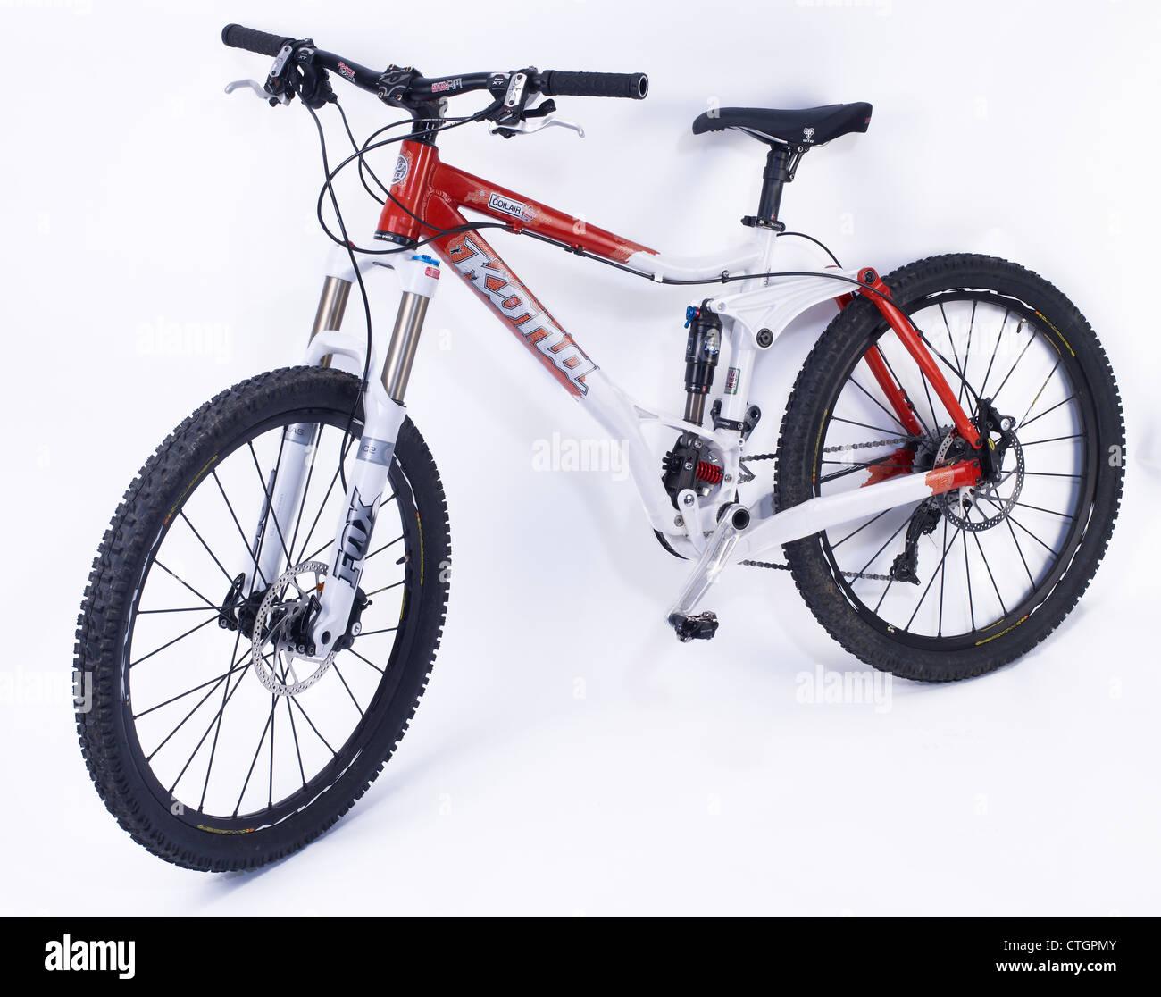 Kona dual suspension mountain bike - Stock Image