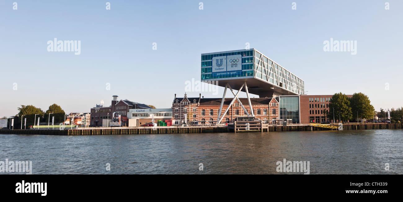 The Netherlands, Rotterdam, Headquarters of Unilever Netherlands. - Stock Image