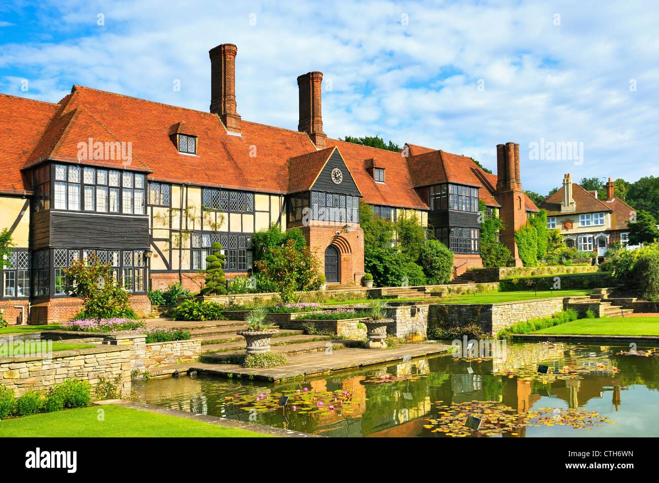 The Manor House, RHS Wisley, Woking, Surrey, UK - Stock Image
